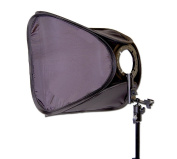 Ex-Pro® Portable Professional Softbox kit for Speedlite, including L-Bracket (Universal Fit Hotshoe) 40cm/16""