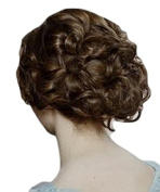 SCRUNCHIE HAIR EXTENSION CURLY UP DO