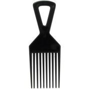 Deluxe Plastic Afro Hair Comb (Great for styling and untangling hair) Good Quality African Hair Pik Comb
