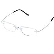 LianSan titanium Rimless reading glasses men women's reading eyeglasses super light Sun Readers reading glasses Sunglasses lmo-013
