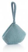 Big Handbag Shop Womens Mini Soft Body Beaded Clutch Bag