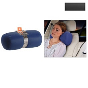 MICRO BEAD TRAVEL NECK PILLOW AEROPLANE CAR TRAVEL SOFT STRETCH CUSHION