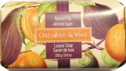 Orchard & Vine Apricot Fig Luxury Soap - 260ml bar