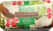 Orchard & Vine Coconut Lime Luxury Soap - 260ml bar