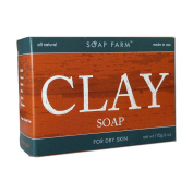 Soap Farm All Natural Clay Facial Soap For Dry Skin