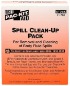 Spill Clean Up Pack from Pac Kit Body Fluid - MS89276