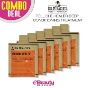6 Combo Deal! Dr. Miracle's Follicle Healer Deep Conditioning Treatment