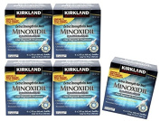 Kirkland Generic Minoxidil Tropical Solution Usp, 5% Mens Hair Regrowth Treatment for 30 Month Supply : Size 6 X 60ml