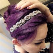2013newestseller Bling Rhinestone Crystal Band Elastic Hairband Headband Lady Women Girls