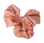 Towallmark 1PC Korean Style Lovely Big Rabbit Ear Bow Headband Ponytail Holder Hair Tie Band