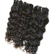 Veadr Beauty 3Pcs/Lot Unprocessed Indian Virgin Remy Deep Wave Hair Extensions Size;36cm 41cm 46cm