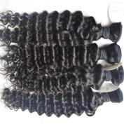 Vedar Beauty 4Pcs/Lot New Product 2014 Unprocessed Indian Deep Wave Hair Extensions Size;41cm 46cm 50cm 60cm
