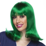 High Quality Green Classic Peggy Sue Synthetic Hair Wig
