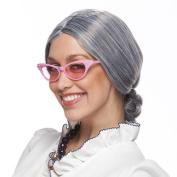 Grey Old Lady Wig Standard