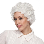 High Quality White Mom Synthetic Hair Wig