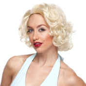 High Quality Blonde Roaring 20's Marilyn Monroe Look Synthetic Hair Wig