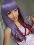 Sexy Lolita Heat Friendly Long Staight Wavy Highlights Cosplay Party Hair Wig