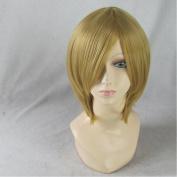 DuRaRaRa!! Kida Masaomi khaki Short Cosplay Party Hair Wig + Wig Cap