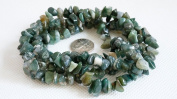 "INDIAN AGATE 4-10mm Gemstone Nugget Chip Loose Beads 34"" Full Strand Birthstone"