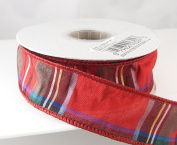 Rudolph Red Multi-Colour Christmas Ribbon 3.8cm or #9 - 10 Yards