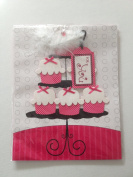 Cupcake Cake Stand Gift Bag with Tag