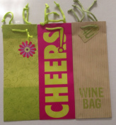 Pack of Three Wine Bottle Gift Bags