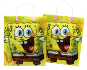 Large Assorted Spongebob Squarepants Gift Bag Set for Girls