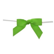 Large Apple Green Grosgrain Bows
