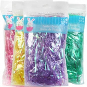 Easter Grass Easter Basket Filler 4 - 120ml Bags Multi Colours