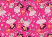 Dora the Explorer and Boots Christmas Wrapping Paper Gift Wrap Roll - 3.7sqm - Officially Licenced - Brand New - #W14-4110