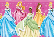 Disney Princess Christmas Wrapping Paper Gift Wrap Roll - Cinderella, Tiana, Belle and Sleeping Beauty - 3.7sqm - Officially Licenced - Brand New - W14-4102-DP