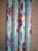 Disney Frozen ~ Elsa, Anna, & Olaf ~ Gift Wrapping Paper 3.7sqm