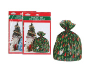 Christmas House Giant Gift Sacks Bags - Great BIG gift bags for great BIG presents! Set of 2 - Assorted Styles