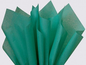 Caribbean Teal Tissue Paper 38cm X 50cm - 100 Sheet Pack