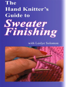 The Hand Knitter's Guide to Sweater Finishing DVD with Leslye Solomon