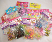 3000 Loom Band Set - 3000 Loom Bands With Clips And Tools [Toy]