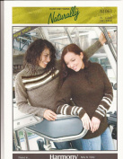 Teens & Women's Raglan Sweater - Naturally Hand Knit Yarns Knitting Pattern N1063 - Pattern Only