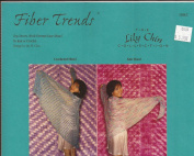 Top-Down Mock Faroese Lace Shawl to Knit or Crochet - Fibre Trends Pattern 110LC - The Lily Chin Collection