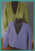Options Jacket Fibre trends Knitting Pattern LL481
