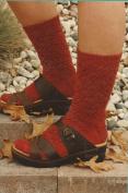 Fibre Trends Acorn Lace Socks Knitting Pattern AC-47
