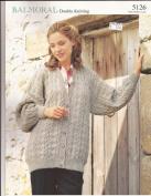Balmoral DK Women's Jacket Knitting Pattern 5126