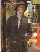 Donegal Tweed DK Cardigan Sirdar Knitting Pattern 8332 80cm - 110cm