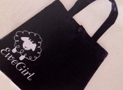Ewe Girl A della Q Brand Black and White Tote