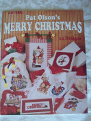 Pat Olson's Merry Christmas Counted Cross Stitch Charts