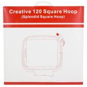 Sew Tech Embroidery Hoop Viking Splendid Square Hoop 120mm x 120mm Hoop