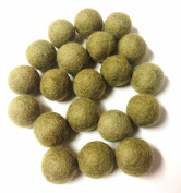 Yarn Place Felt Wool Felted 100 Balls 1 Colour Pack Size