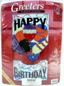 Janlynn HAPPY BIRTHDAY Greeters Needlepoint Plastic Canvas KIT 1415 The Sugarplum Express 25cm x 46cm No Sew Finish!