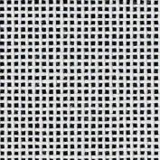 Zweigart Orange Line Blank Mono Deluxe 13-Mesh White Needlepoint Canvas 50cm X 46cm