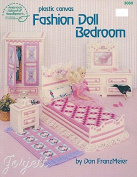 Plastic Canvas Fashion Doll Bedroom for Barbie 3060