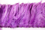 7.6cm Coque Feather Fringe 10cm - 15cm Dyed LILAC